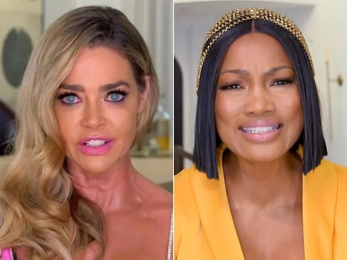 "Denise Richards Tells Garcelle Beauvais Why She Chose To Quit 'RHOBH' After 'Very Challenging' Season; Garcelle Says She's ""Definitely Up For Another Season"""