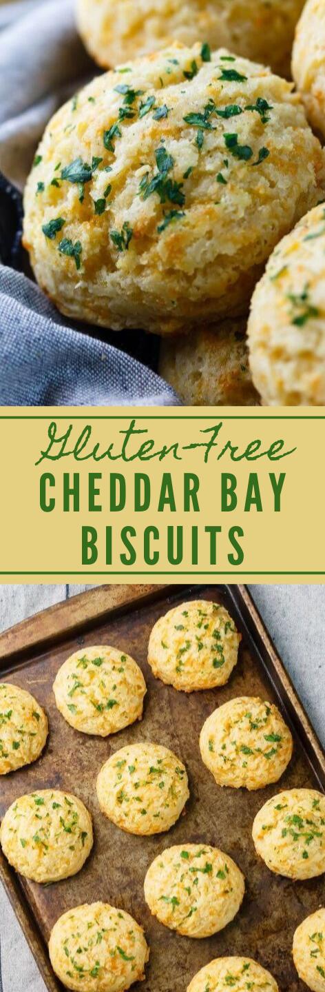 Gluten-Free Cheddar Biscuits #vegetarian #biscuits #glutenfree #easy #recipes