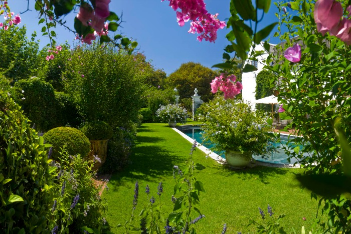 Stellenberg Gardens, piscina y jardín de ocio