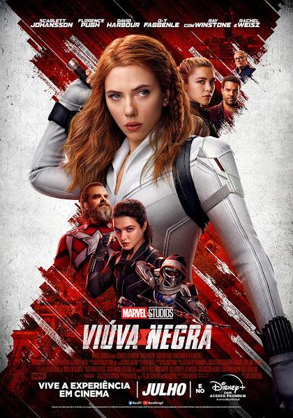 VIÚVA NEGRA - NOVO POSTER - NOS CINEMAS A 8 DE JULHO E NO DISNEY+ A 9 DE JULHO