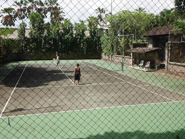 lapangan tennis Segara Village Hotel