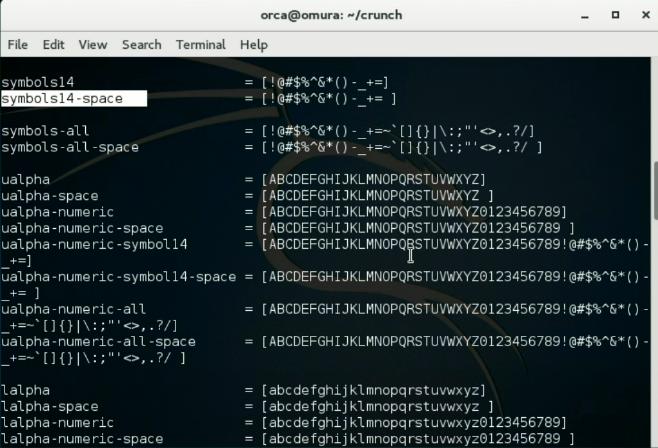 torrent password list