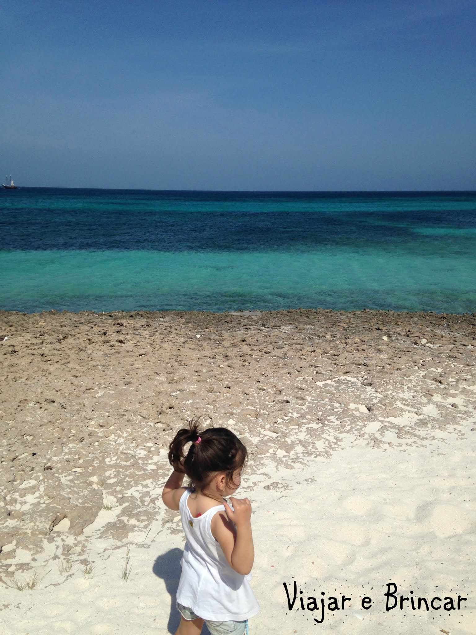 Aruba com criancas
