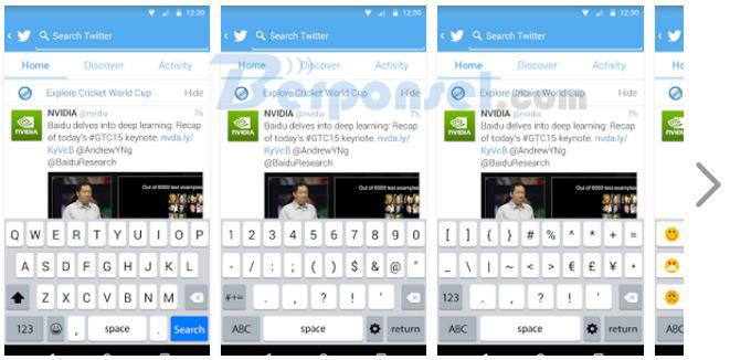 Aplikasi Keyboard Android yang Ringan terpopuler