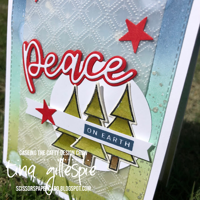 scissorspapercard, Stampin' Up!, CASEing The Catty, Peace & Joy Bundle, Coming Home Bundle, Stitched Rectangles Dies, Dainty Diamonds 3DEF, Stampin' Blends