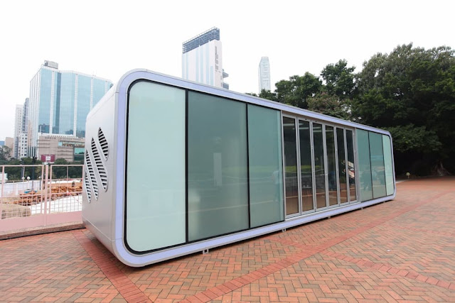 The Alpod aluminum house