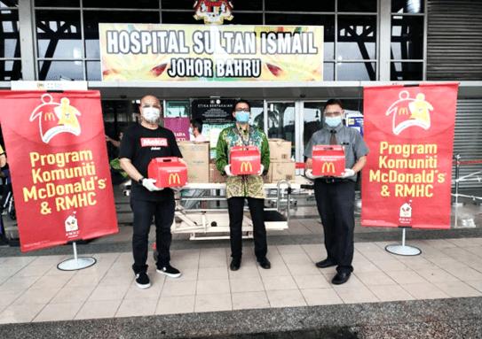 Penghargaan McDonald's Malaysia kepada Petugas Barisan Hadapan Perubatan