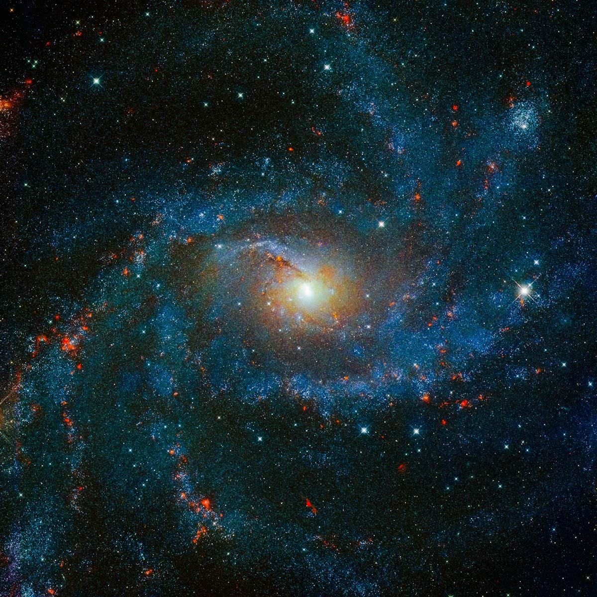 Uma galáxia de tirar o fôlego