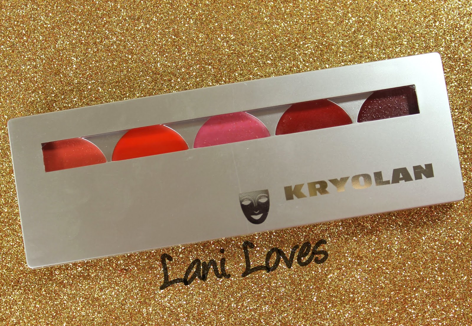 Kryolan Lip Rouge Set - Performance Swatches & Review