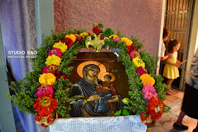 Γιόρτασαν την Κοίμηση της Αγίας Άννης στο Τημένιο