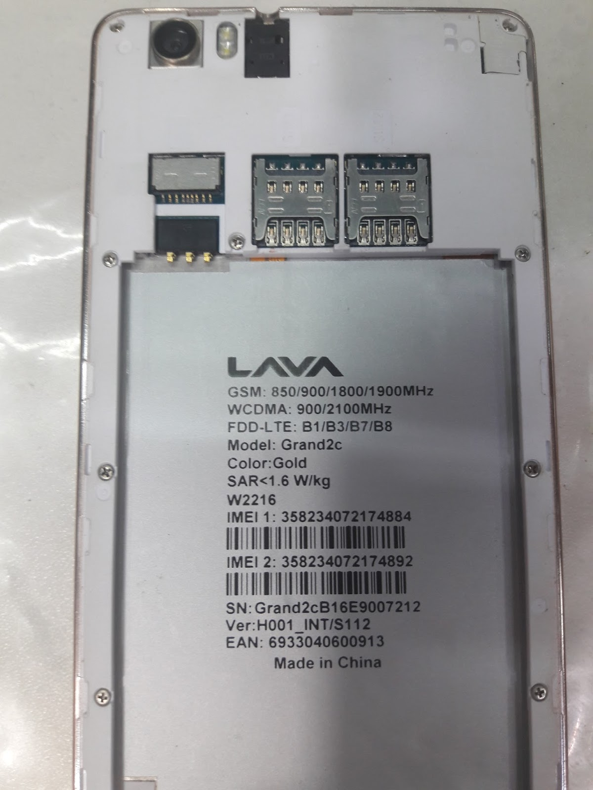 LAVA GRAND 2C FIRMWARE FLASH FILE MT6735 6 0 STOCK ROM TESTED BY ALO TELE