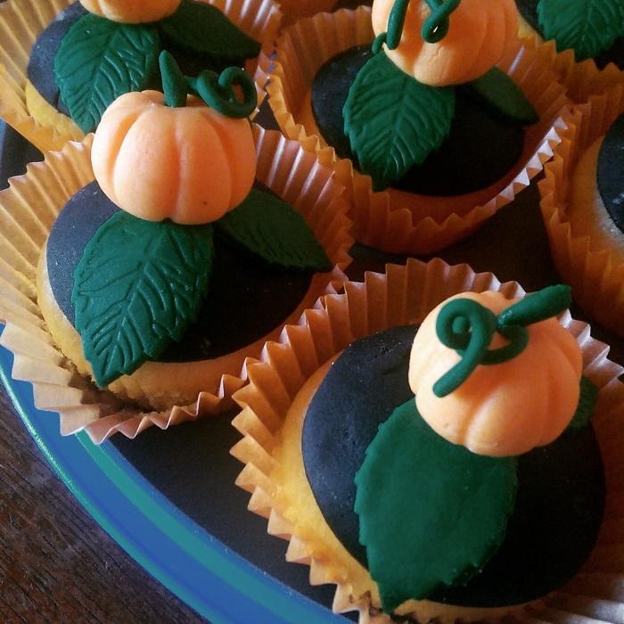 Pumpkins cupcakes