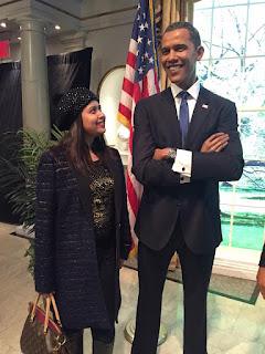 Ashna Habib Bhabna Biography, Hot HD Photos, Wallpapers With 44th U.S. President Barack Obama