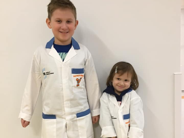 Aiya joins Harvey's Gang at Birmigham Children's hospital