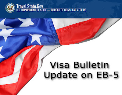 Department of State Visa Bulletin Update on EB-5
