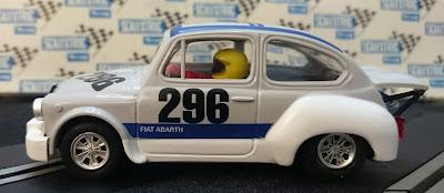 Perfil del Fiat Abarth 1000 Nürburgring Reprotec