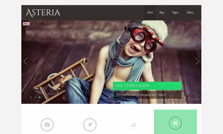 Asteria Lite - Multi-purpose theme