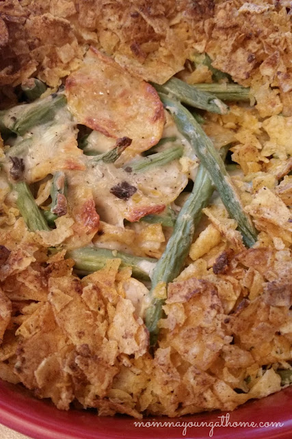 A New Tradition: Spicy Green Bean Casserole