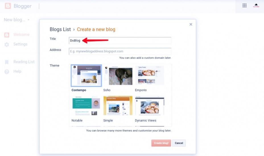 Blogger-blog-title