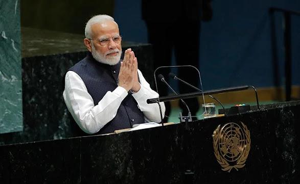 Narendra Modi's UN Speech of 2021