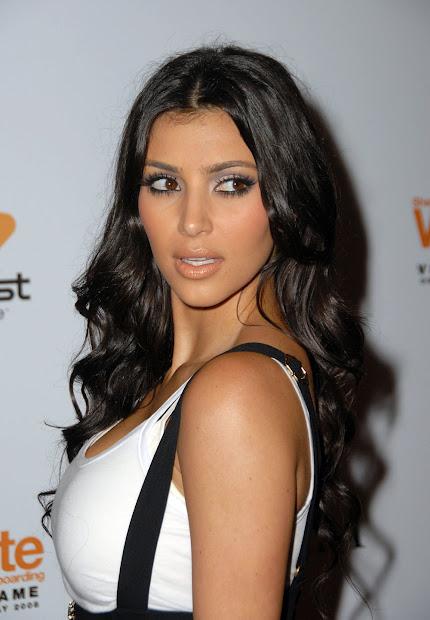 kim kardashian curly hair fresh