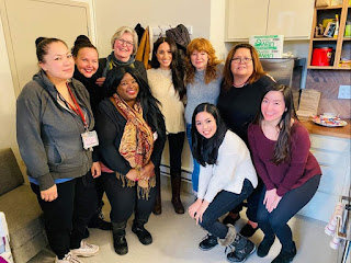 Duchess of Sussex making new connections at women's shelter in Vancouver