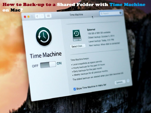 How to Back-up to a Shared Folder with Time Machine on Mac?