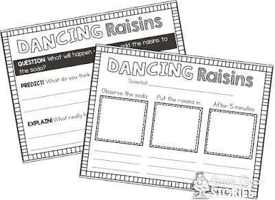Dancing Raisins Worksheet - Synhoff
