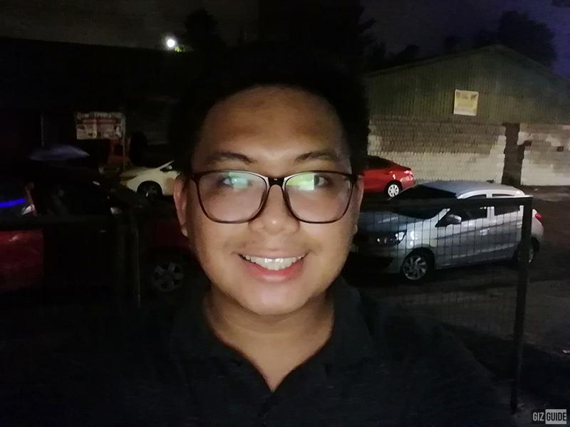 Screen flash mode