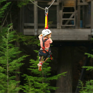 David Ziplines the Canadian Rockies