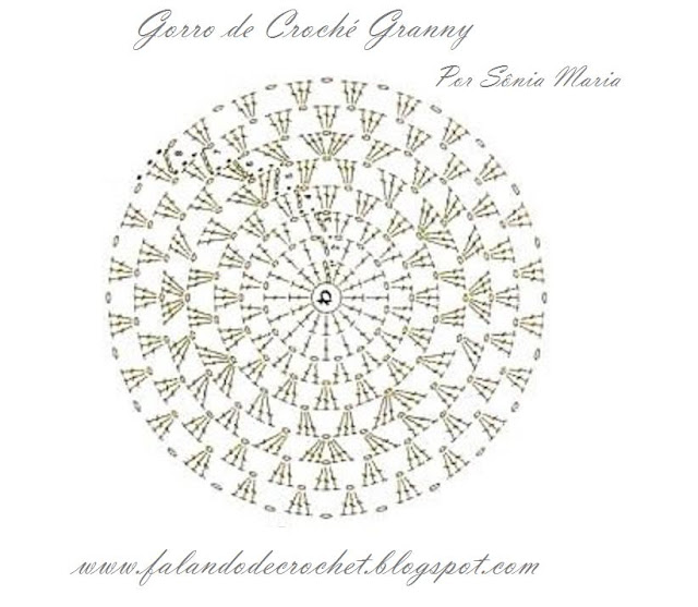 8520866a0e71d FALANDO DE CROCHET  GORRO DE CROCHE PARA BEBE GRANNY 3