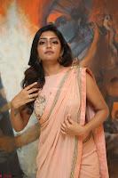 Eesha Rebba in beautiful peach saree at Darshakudu pre release ~  Exclusive Celebrities Galleries 009.JPG