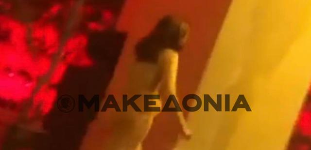 Θεσσαλονίκη: Γυναίκα κυκλοφορεί γυμνή στο κέντρο της πόλης (Βίντεο)