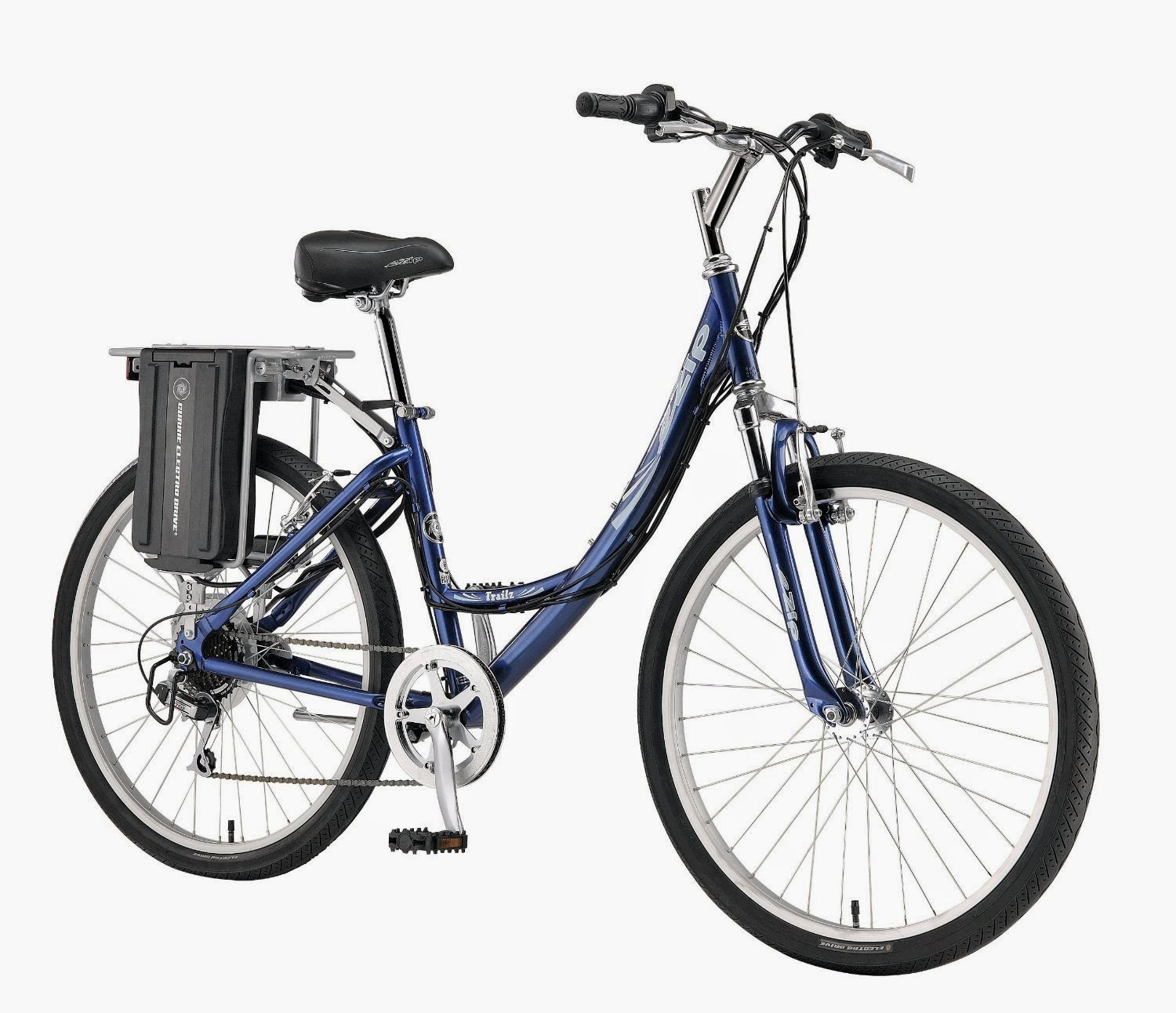 Currie Technologies eZip Women's Trailz Electric Bike with step-through design, combines pedal & battery power, Review