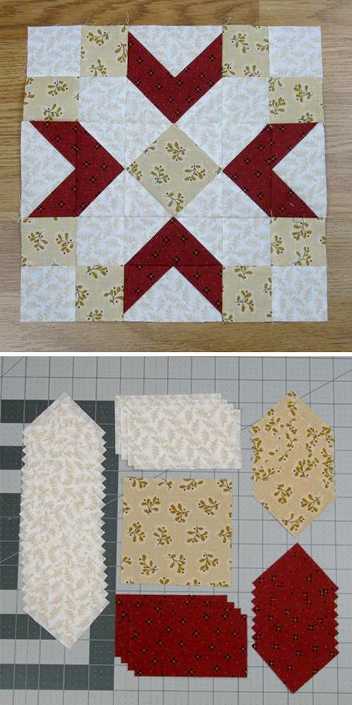 Friendship Block - Free Quilt Pattern é Tutorial