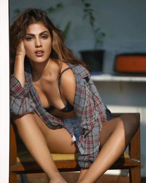 Rhea Chakraborty Hot Bikini Pics From Instagram