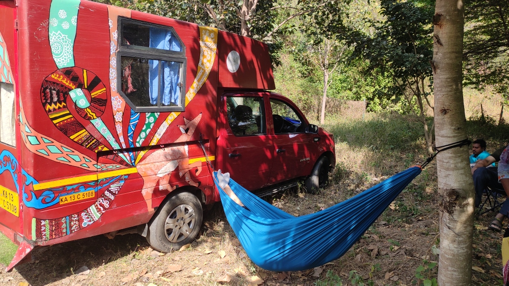 Caravan hire and tour experience in Bengaluru with TrippyWheels