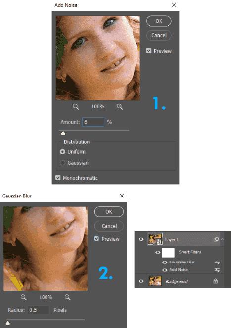 Membuat foto menjadi bertekstur di Photoshop