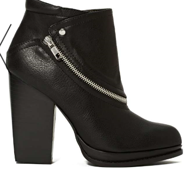 0d79471923 This fall, tip down your personal catwalk in a fierce bootie. Strategic  details make a simple and nearly blah piece of footwear more appealing.