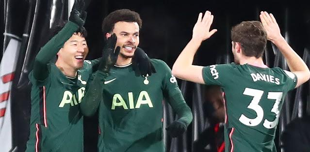 Fulham vs Tottenham Highlights