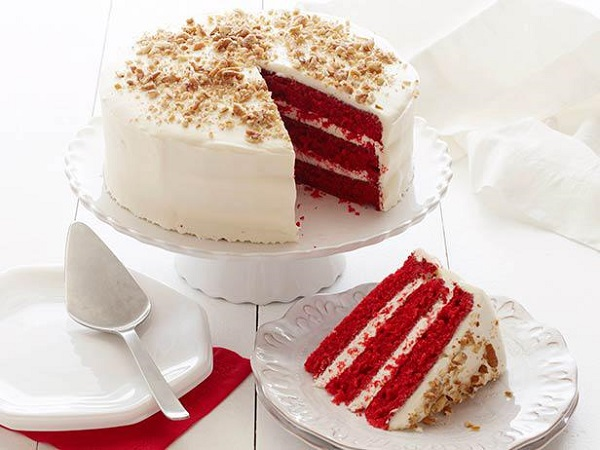 Easy way to make a red velvet cake