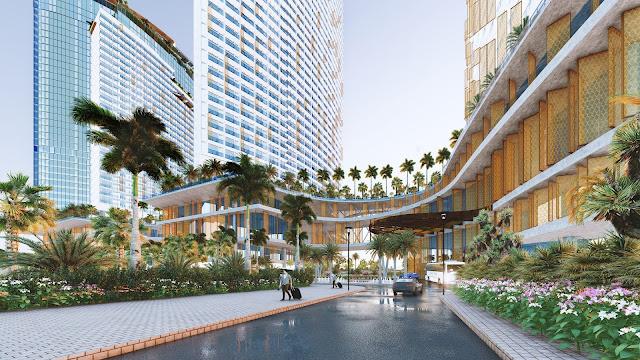 Trung Tâm Thương Mại dự án Sunbay Park Hotel & Resort