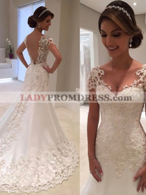 Wedding dresses at ladypromdresses.com