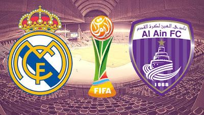 مشاهدة مباراة ريال مدريد والعين بث مباشر اليوم 22-12-2018 في كأس العالم للأندية