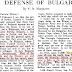 Bin zwar kein Bulgare - aber ein gebürtiger Makedonier! 1922