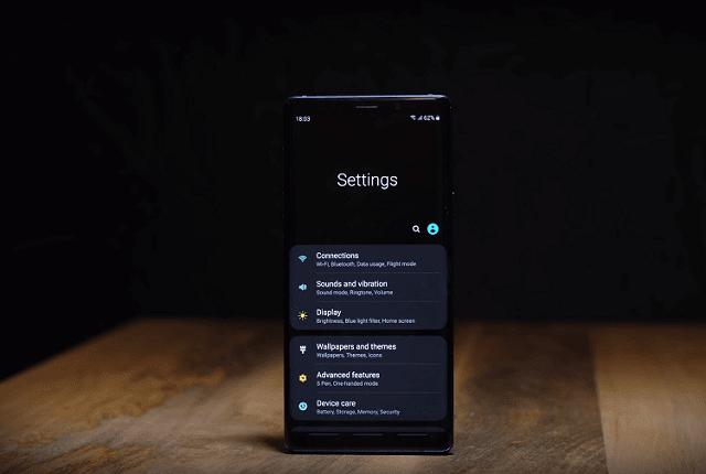 سامسونج تخطط لإصدار تحديث One UI 2.0 مع Android Q سوياً