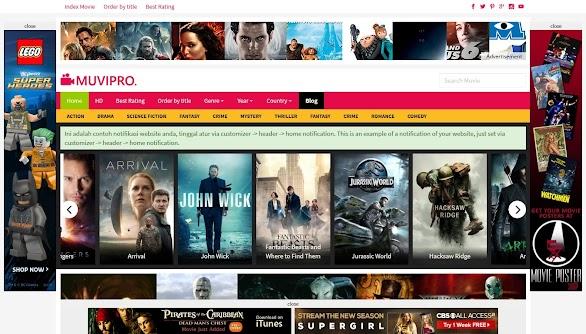 Muvipro Movie WordPress Theme