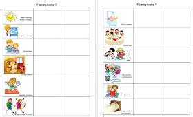Keshalish Daily Morning Evening Routine Chart For Kids Free Printable Pdf