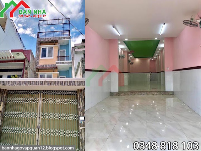 Nhà mặt tiền Phạm Văn Chiêu phường 16