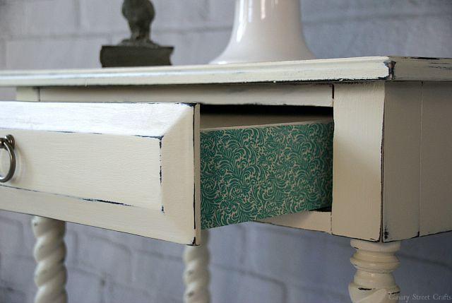 Adding Detail to Furniture with Washi Tape